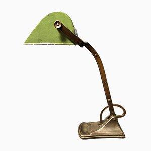 Lámpara de escritorio alemana Art Déco, años 20
