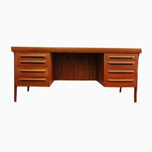 Vintage Teak Desk by Ib Kofod Larsen for Faarup