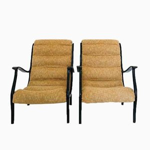 Vintage Mitzi Lounge Chairs by Ezio Longhi for Elam, 1950s, Set of 2
