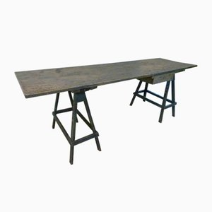 Pine Worktable, 1980s