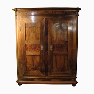 Antique German Walnut Cabinet, 1780s