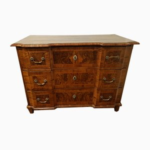 Antique Baroque Walnut Commode