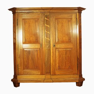 Swiss Walnut Cabinet, 1780
