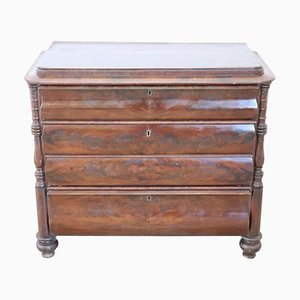 Antique Mahogany Dresser, 1850s