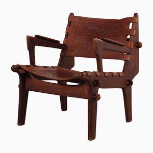 Ecuadorian Lounge Chair by Angel I. Pazmino for Muebles de Estilo, 1960s