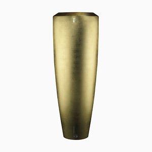Petit Vase Obice Polyéthylène Basse Densité Doré par Giorgio Tesi pour VGnewtrend