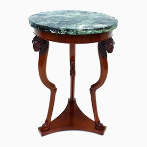 Empire Mahogany Side Table, 1810s