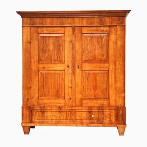 Biedermeier Cherry Wood Armoire, 1830s