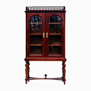 Antique Mahogany Showcase