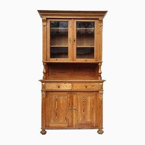 Aparador estilo Wilhelminian de madera blanda, década de 1880