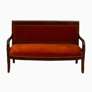 Upholstered Biedermeier Bench, 1835