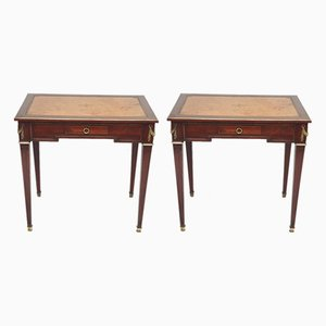 Empire Side Tables, Set of 2