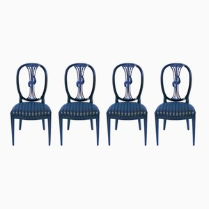 Hepplewhite Chairs, 1790s, Set of 4