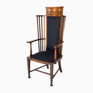 English Arts & Crafts Armchair, 1890s
