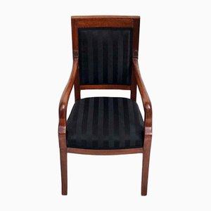 Biedermeier High Chair with Armrests, 1830s