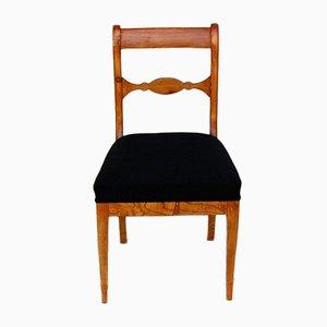 Biedermeier Elm Chair, 1835