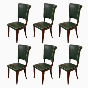 Art Deco Chairs, 1920s, Set of 6