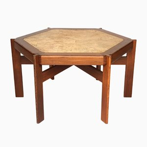 Mid-Century Walnut Table, 1960s
