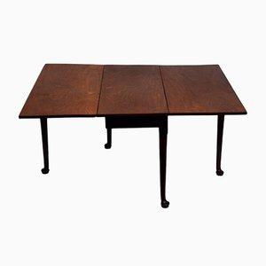 George II Mahogany Folding Table, 1770s