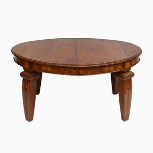 Art Nouveau Walnut Table, 1890s