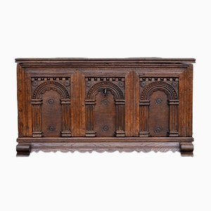 Late Renaissance Oak Chest, 1700s