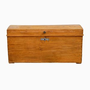 Antique Softwood Chest, 1840s