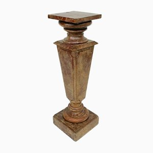 Antique Statue Column, 1890s