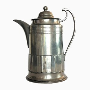Tin Biedermeier Coffee or Teapot, 1840s