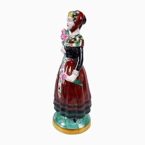 Girl With a Bouquet of Flowers Figurine from Royal Copenhagen, 1830s