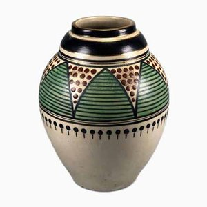 Art Deco Vase by L. Lombart, 1920s