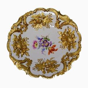 Vintage Porcelain Plate from Meissen Porzellan
