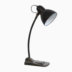 Lámpara de escritorio modernista de Jacobus, años 30