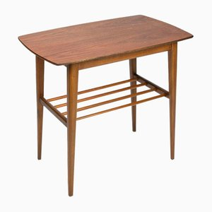 Danish Side Table with Teak Top, 1960s