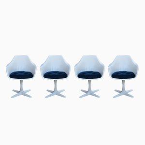 Vintage Modell Nr. 116 Stühle von Maurice Burke für Arkana, 4er Set