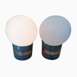 Lampes de Bureau par Gae Aulenti pour Artemide, 1969, Set de 2
