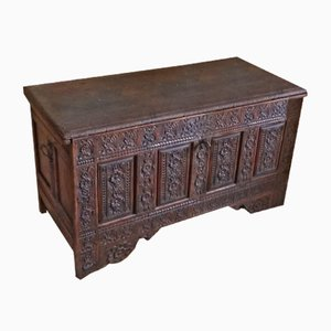 Antique Oak Chest