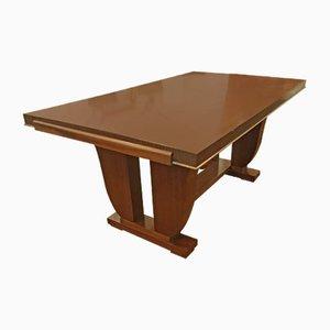 Vintage Art Deco Mahogany Dining Table