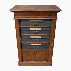Antique Cartonnier Drawer Cabinet