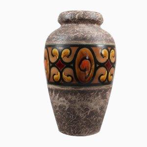 Große niederländische Istanboel Vase von Flora Gouda, 1968