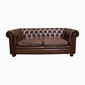 Vintage Chesterfield Sofa aus Leder, 1970er