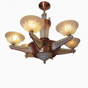 Art Deco Deckenlampe von Ezan für Atelier Petitot
