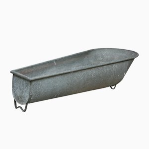 Large Zinc Bathtub or Planter