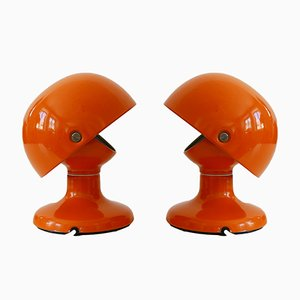 Mid-Century Modern Jucker Table Lamps by Afra & Tobia Scarpa for Flos, Set of 2