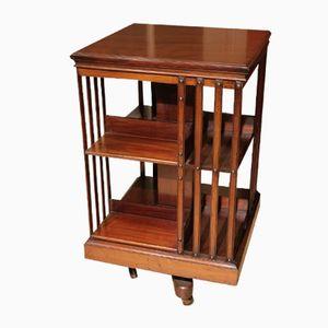 Antikes drehbares Bücherregal aus Mahagoni von Maple & Co
