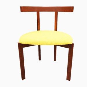 Afromosia T-Chair von Peter Hvidt für France & Søn, 1960er