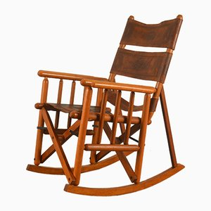 Ecuadorian Safari Rocking Chair, 1960s