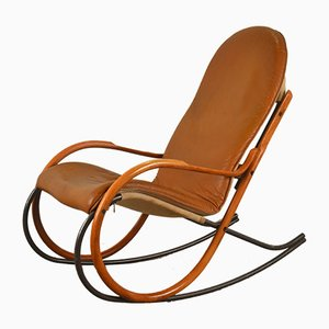 Swiss Rocking Chair by Paul Tuttle for Strässle, 1970s