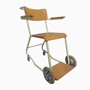 Silla vintage con ruedas de Royal Séquaris