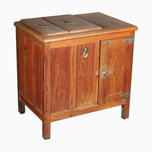 Antiker Kühlschrank mit verzinkten Elementen von Stella Polare