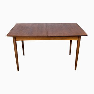 Vintage Dining Table with Teak Central Extension, 1960s